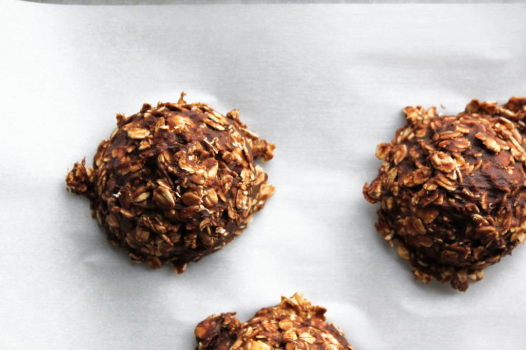 N- Bake Chocolate Pumpkin Oatmeal Cookies-2