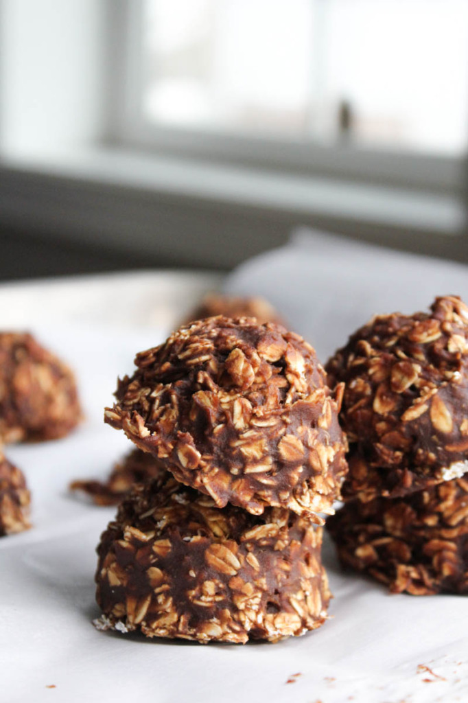 N- Bake Chocolate Pumpkin Oatmeal Cookies-5