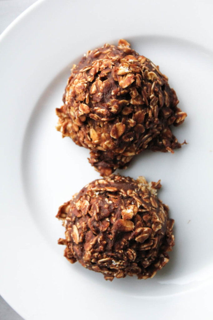N- Bake Chocolate Pumpkin Oatmeal Cookies-9