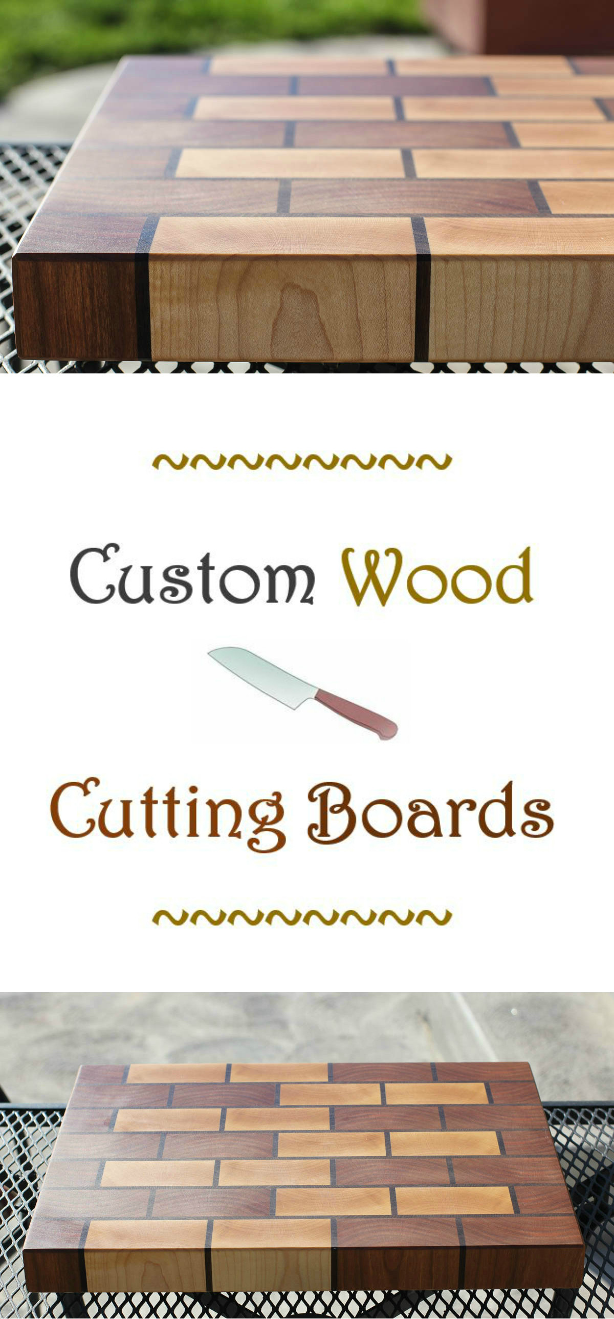 Custom Wood Cutting Boards