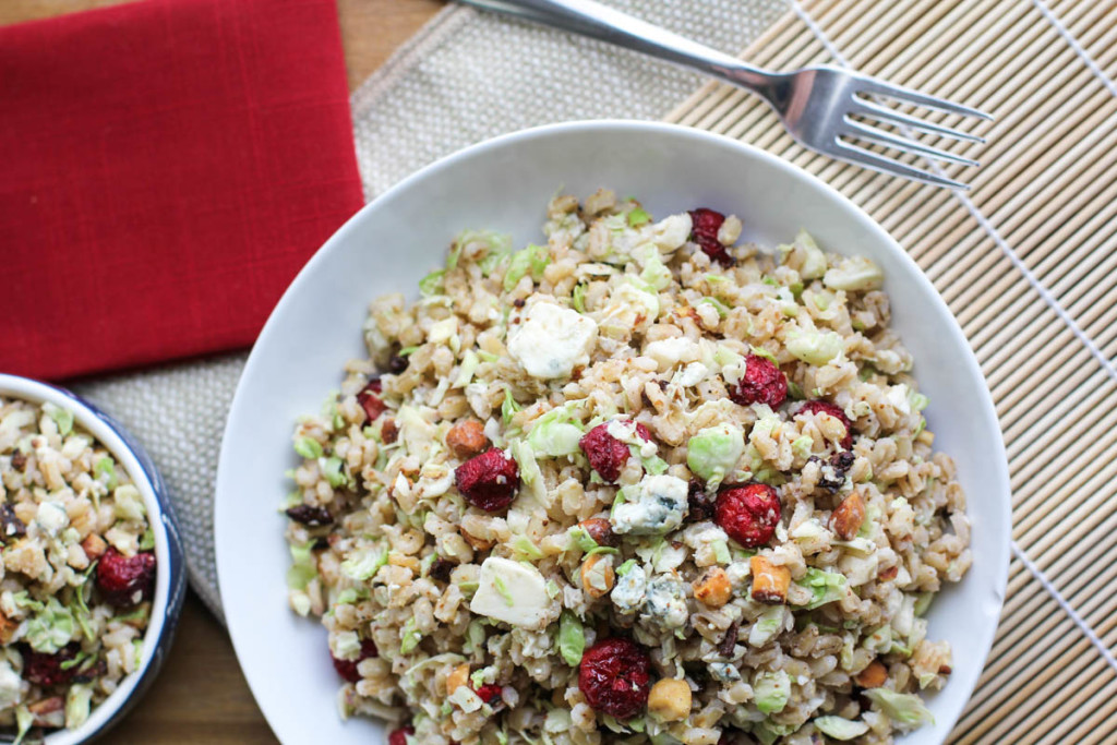 Barley and Brussels Sprouts Salad-2