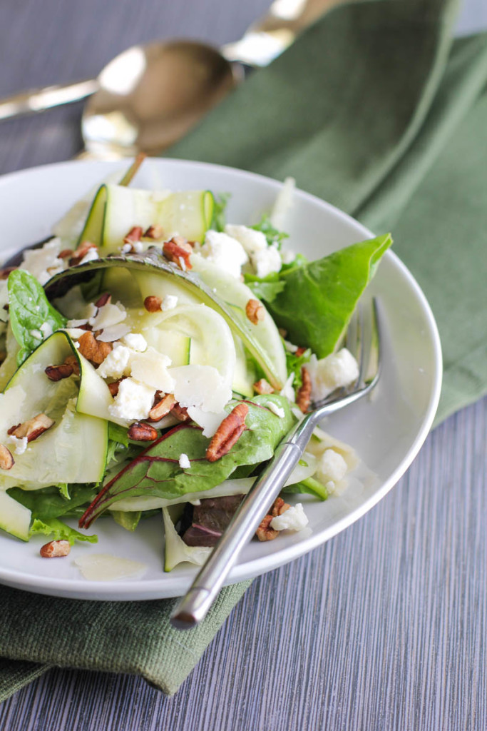 Zucchini and Fennel Summer Salad