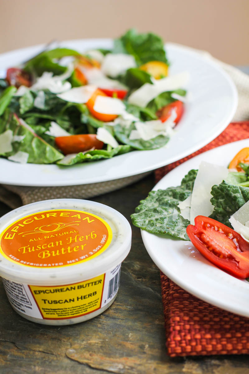Lemon Tuscan Herb Butter Salad Dressing